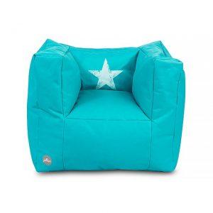 jollein-kinderfauteuil-beanbag-faded-star-aqua