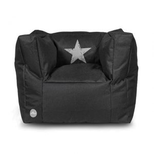 jollein-kinderfauteuil-beanbag-faded-star-black