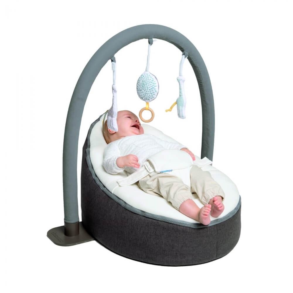 Doomoo Seat Baby Zitzak.Doomoo Totaalpakket Seat Home Dandelion Met Speelboog Fruit