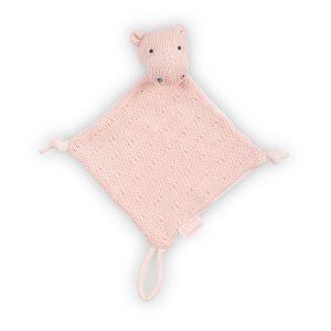 Knuffeldoekje Hippo Jollein Soft Knit Creamy Peach