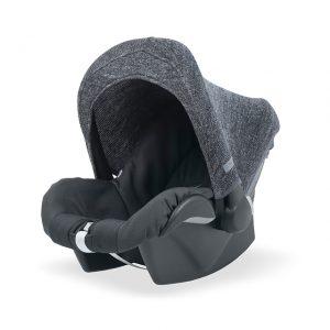 Zonnekapje groep 0 tot 9 maanden Jollein Natural Knit & Felt