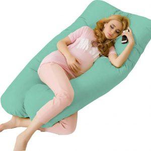 zwangerschapskussen extra groot groen