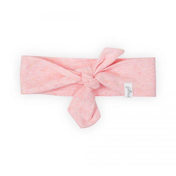jollein speckled haarband roze