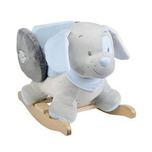 nattou schommelpaard hond toby