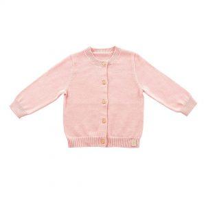 Jollein vestje roze pretty knit