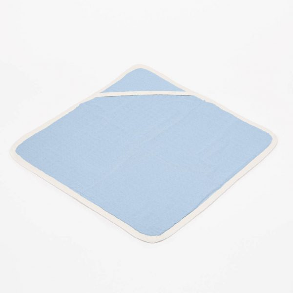 fair and cute badcape light blue