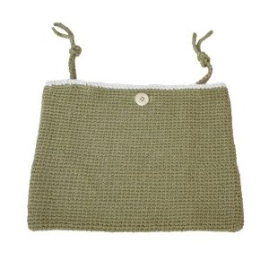 fair and cute opbergzak liggend olive green