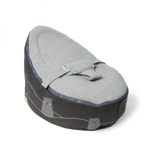 doom seat zitzak bear grey