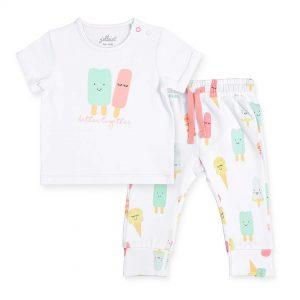 jollein t-shirt broekje happy icecream (1)