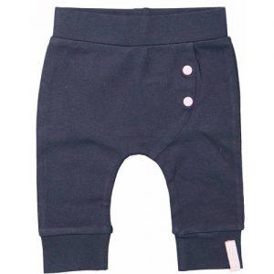 Dirkje basic broek blauw meisjes
