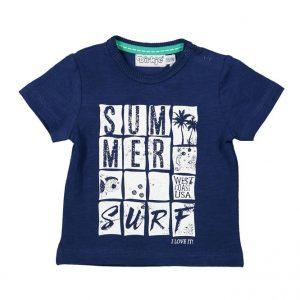 Dirkje baby shirt blauw summer