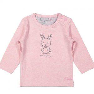 Dirkje basic shirt lange mouwen roze
