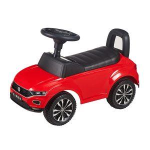 Loopauto Vokswagen rood