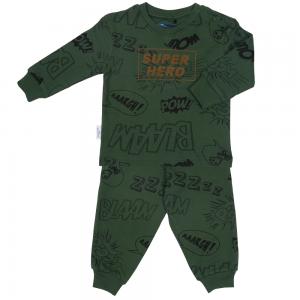 Pyjama leger groen